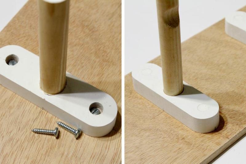 Dielenmöbel DIY Garderobe selber bauen Anleitung Flurmöbel selber bauen
