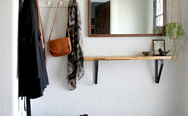 Dielenmöbel-DIY-Garderobenständer-Holz-Flurmöbel-selber-bauen