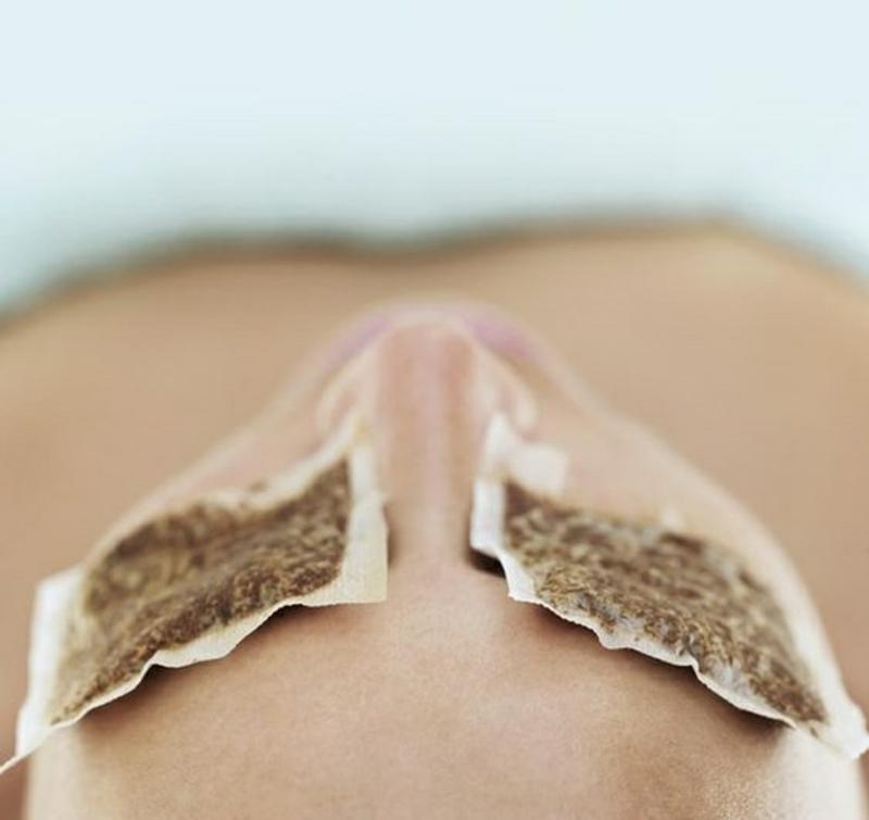 Gesichtspflege natürliche Gesichtsmasken Teebeutel schöne Haut Tipps