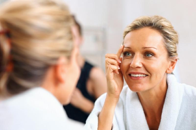 Gesichtspflege schöne Haut in jedem Alter