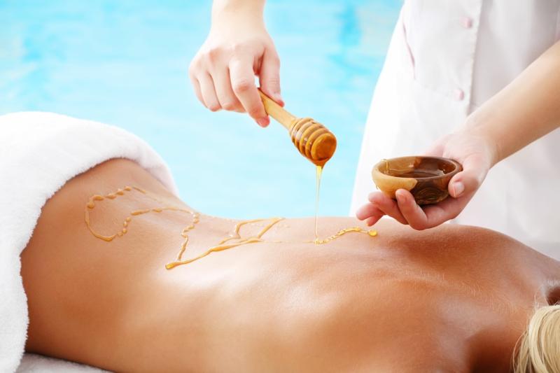 Honig gesund Massage Honig Wirkung
