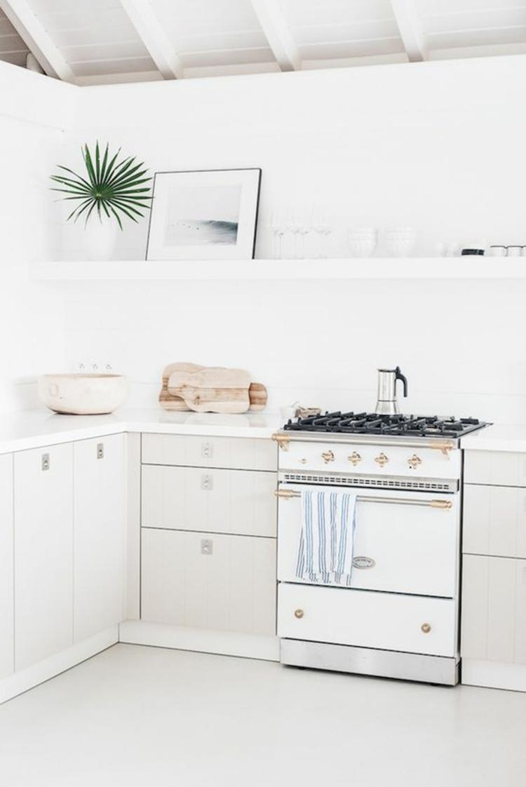 Küchendesign Trends moderne Küchen weiß Küchenbilder