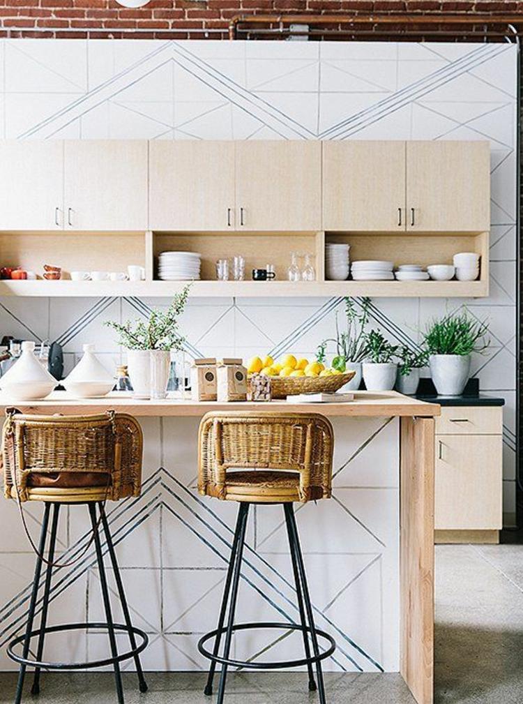 Küchendesign aktuelle Trends Küchen modern Küchenschränke Holz