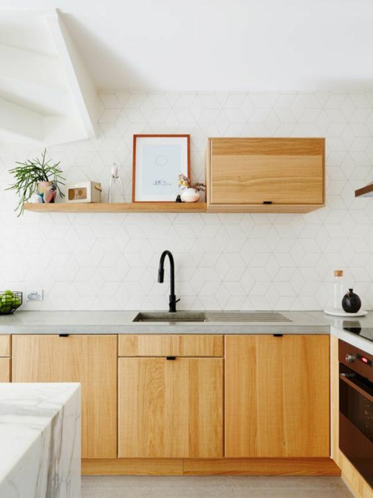 Küchendesign moderne Küchen Holz Küche Küchenbilder