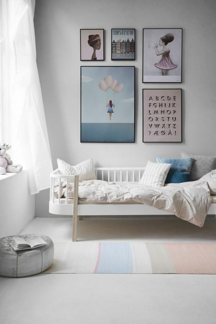 Kinderzimmer Ideen Bilder für Kinderzimmer Wanddeko Pastellfarben