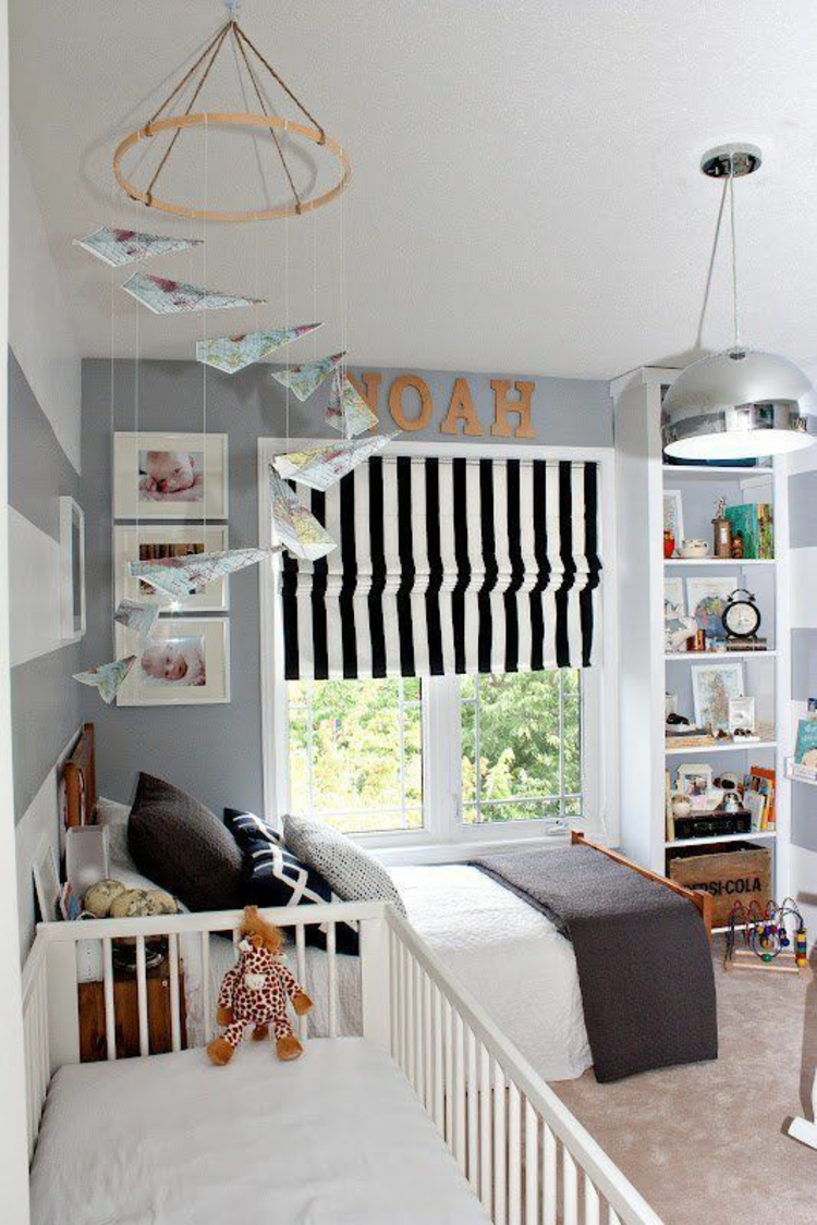Kinderzimmer einrichten und die aktuellen trends befolgen - Toddler bedroom ideas for small rooms ...