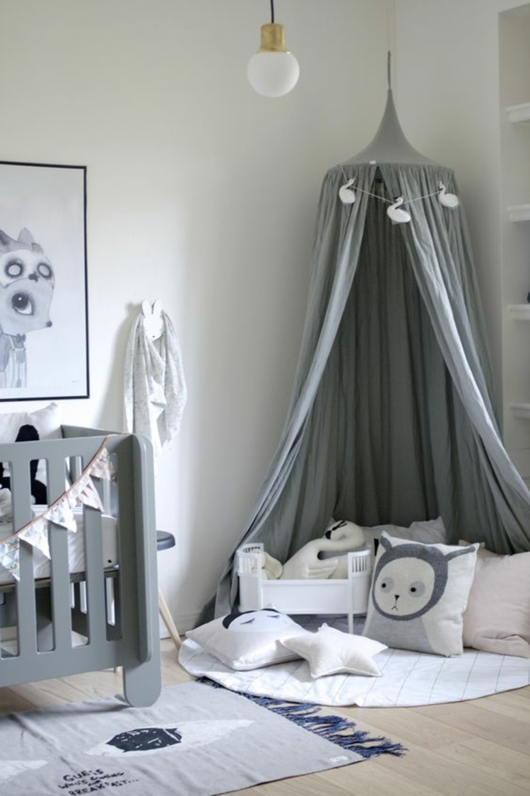 Kinderzimmer einrichten Bilder für Kinderzimmer Bett Kuschelecke
