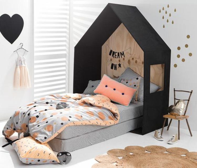 Kinderzimmer einrichten Bilder für Kinderzimmer Bett Mädchenzimmer