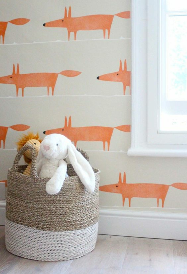 Kinderzimmer einrichten Bilder für Kinderzimmer Wandgestaltung Tapeten Fensterdeko