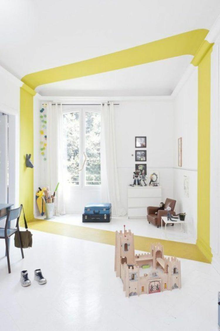 Kinderzimmer einrichten Gardinen für Kinderzimmer Wandgestaltung