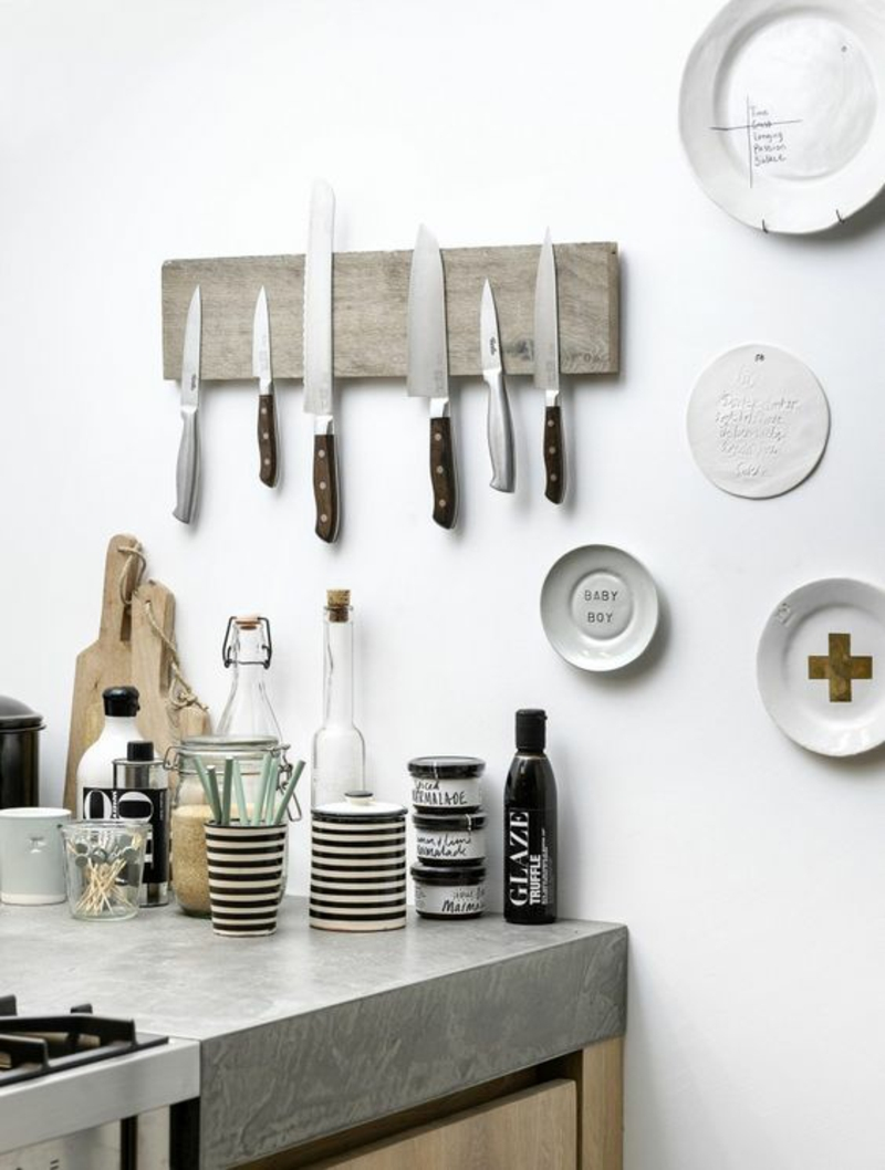 Magnetleiste für Messer Anleitung Küchenzubehör