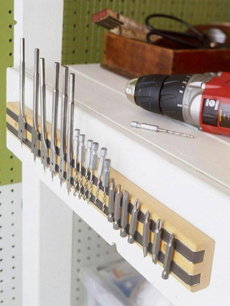 Magnetleiste für Messer oder Werkzeuge bauen Anleitung