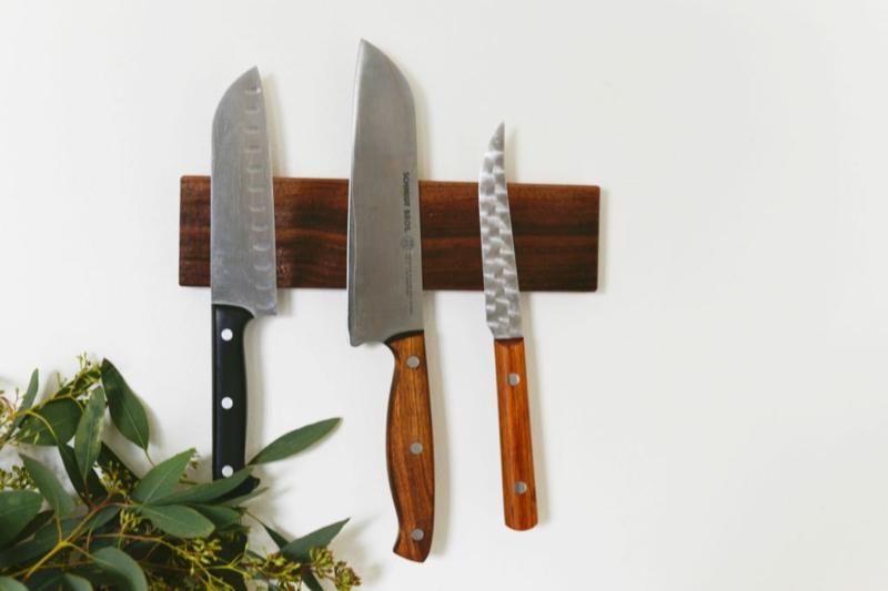 Magnetleiste für Messer selber machen Anleitung