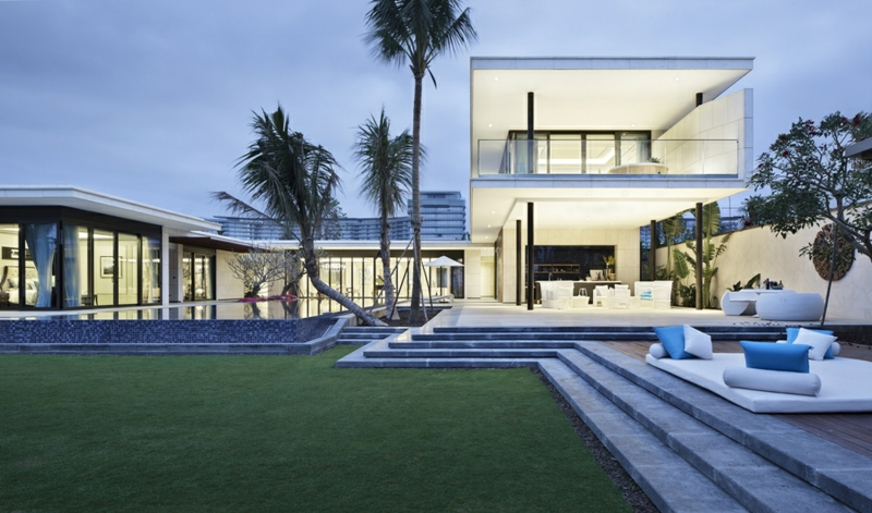 Moderne Häuser bauen Architektenhäuser Luxus Sommerhaus