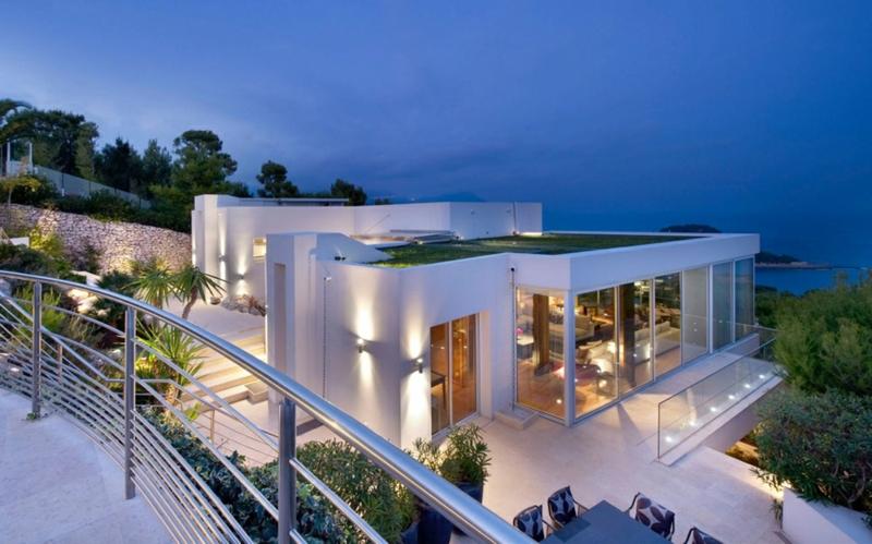 Moderne Häuser bauen Architektenhäuser Sommerhaus Design