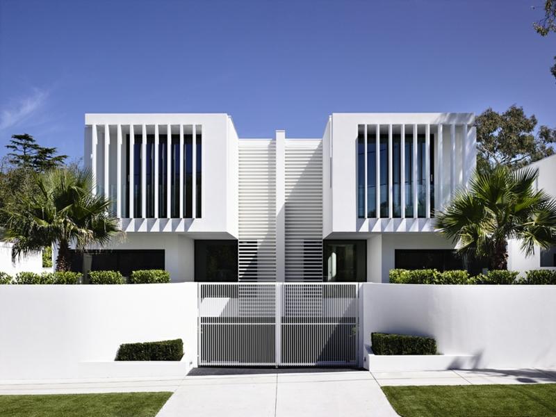 Moderne Häuser bauen Architektenhäuser Sommerhaus innovative Hausfassade