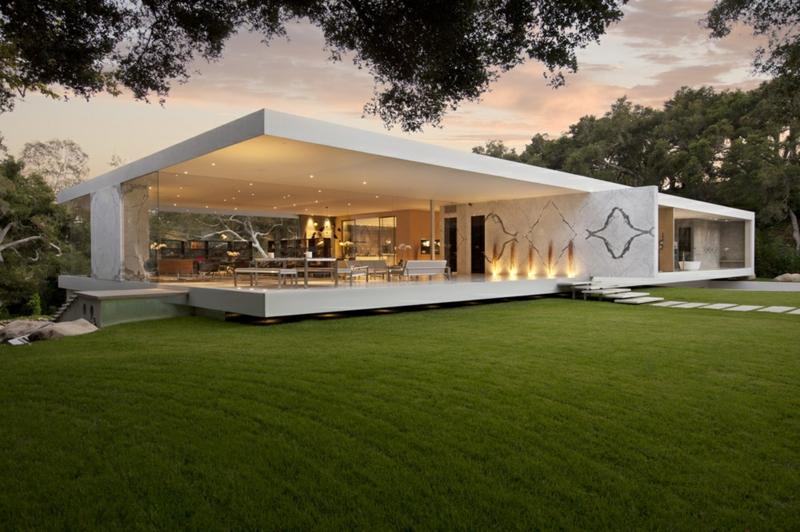 Moderne Häuser bauen Architektenhäuser weltweit Fotobeispiele