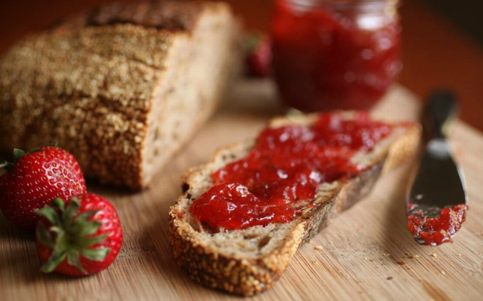 Rhabarber rezepte erdbeeren ingwer konfiture kuchen erdbeer