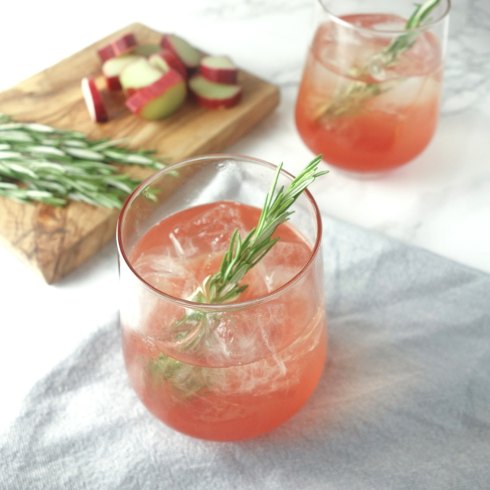 Rhabarber rezepte erdbeeren ingwer konfiture kuchen rosmarin