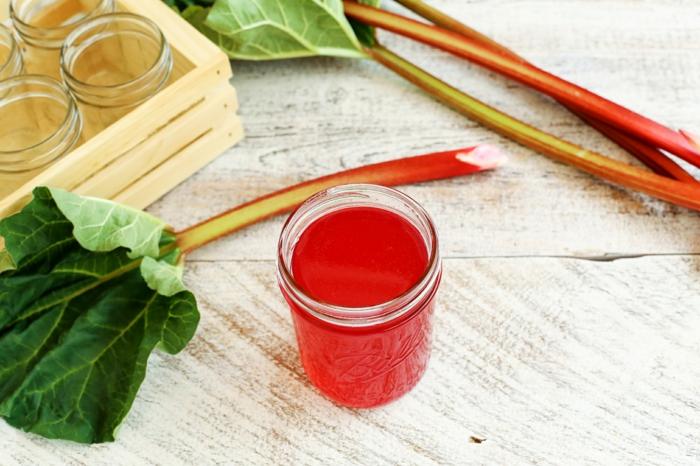 Rhabarber rezepte erdbeeren ingwer konfiture kuchen saft