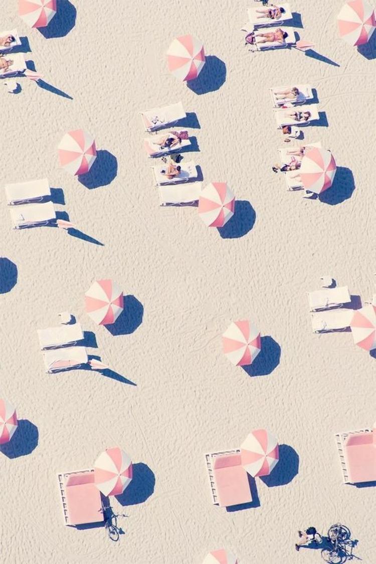 Sonnenschirme Lounge Möbel Sonnenliegen Sommerurlaub