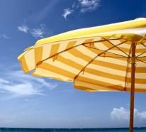 Sonnenschirme für den Sommerurlaub: So wählen Sie einen Sonnenschirm richtig aus