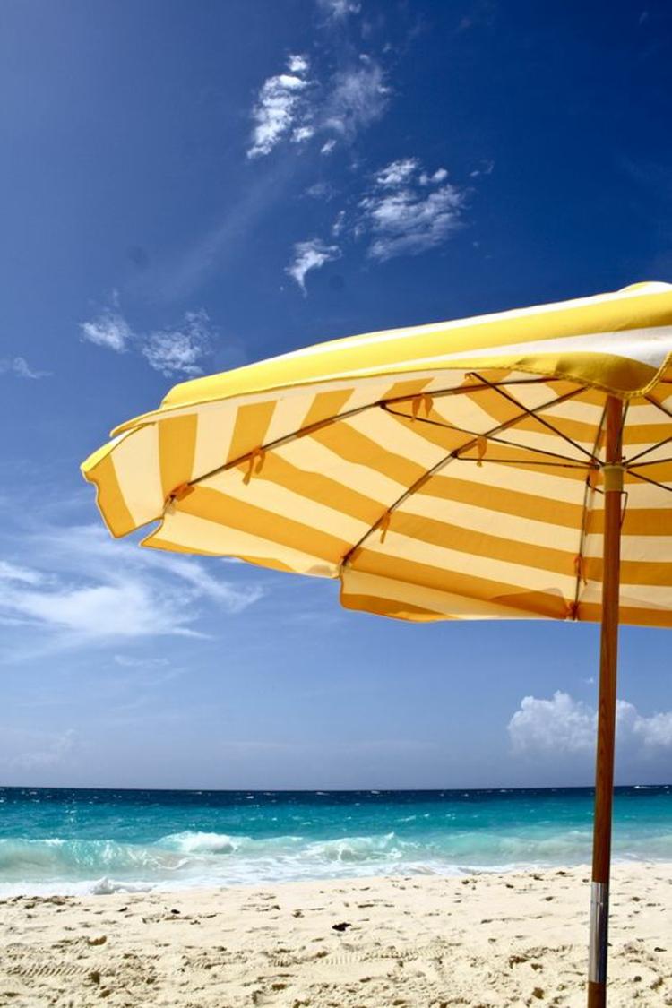 Sonnenschirme Strand Sonnenschutz Meerurlaub Accessoires