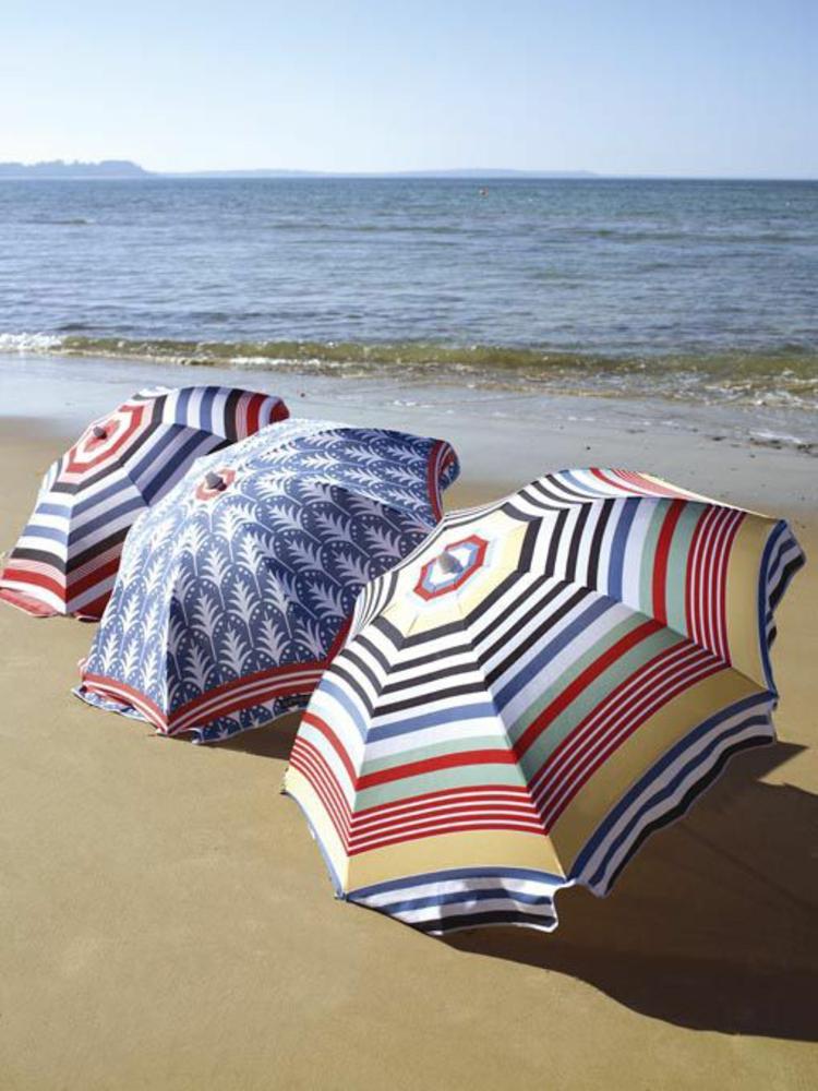 Sonnenschirme Strand Sonnenschutz Sonnenschirm benutzen