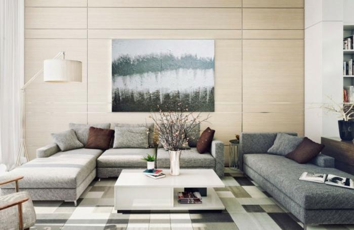 Wohnzimmer Deko Ideen Wohntrends Wohnzimmermöbel Ecksofa