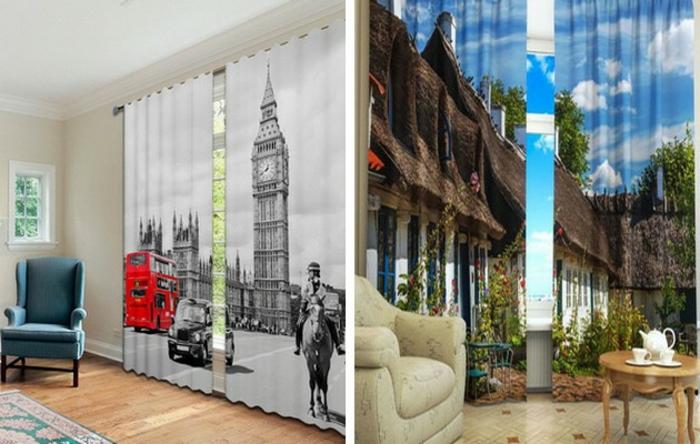 Wohnzimmer Ideen Wohntrends Gardinen Prints