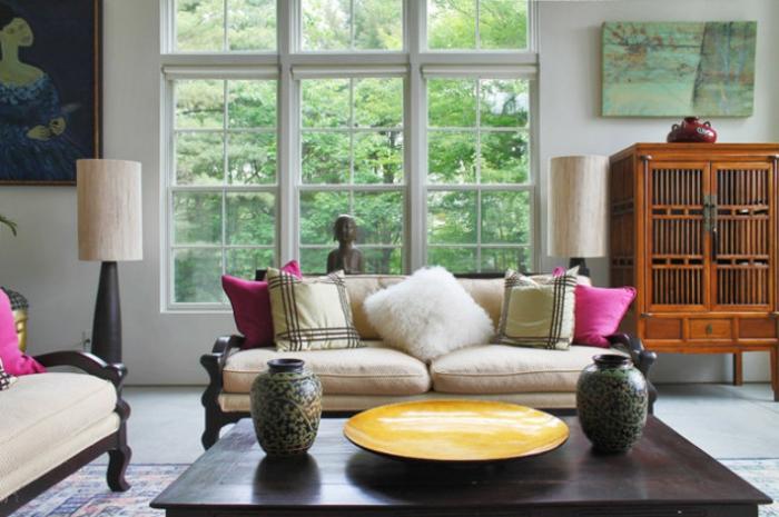 Wohnzimmer Ideen Wohntrends Wohnzimmermöbel Couchtisch Dekoartikel