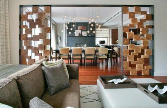 Wohnzimmer Ideen Wohntrends Wohnzimmermöbel Trennwand