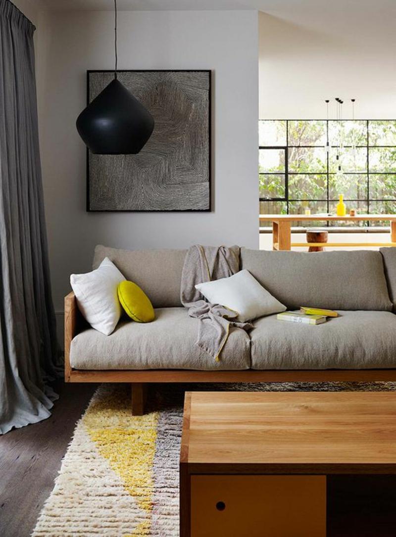 Wohnzimmerleuchten und lampen für ein modernes ambiente