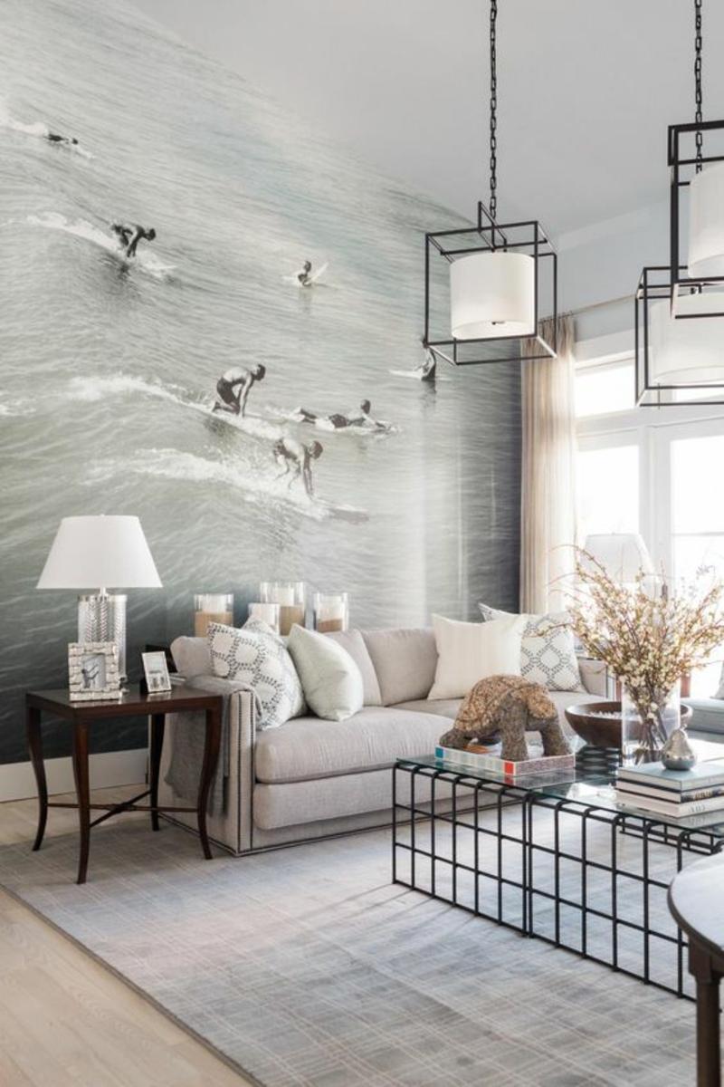 Kleines Wohnzimmer Fototapete ~ Raum- Und Möbeldesign-inspiration Fototapete Grn Wohnzimmer