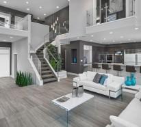 wohnzimmerleuchten und lampen für ein modernes ambiente, Wohnzimmer entwurf