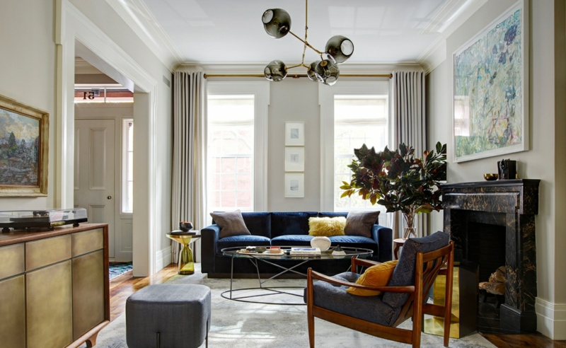 wohnzimmerleuchten und lampen f r ein modernes ambiente. Black Bedroom Furniture Sets. Home Design Ideas