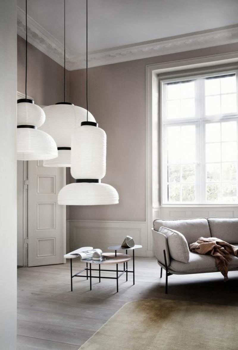 Wohnzimmerleuchten Modern With Und Lampen F 1 4 R Ein Modernes Ambiente Also Effektvolle Pendelleuchten