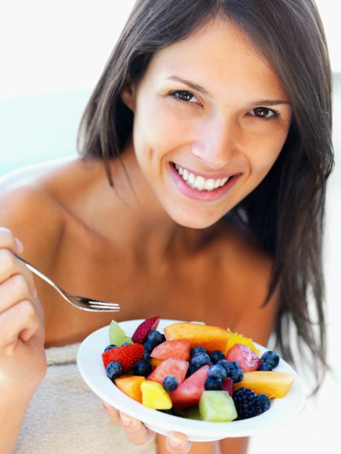 abnehmen ohne zu hungern salete essen häufig gesund