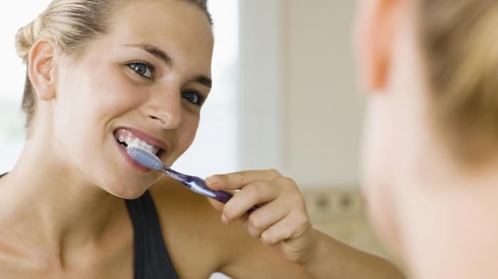 abnehmen ohne zu hungern zähne mehrmals putzen effekte