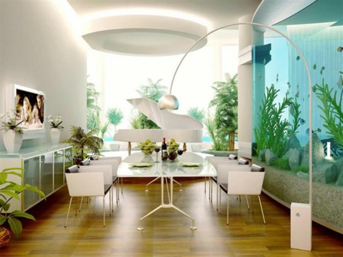 Warum Sollten Sie Das Interieur Mit Aquarium Einrichten
