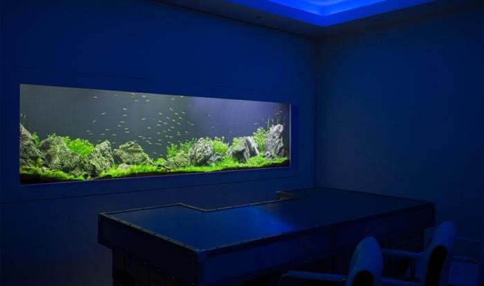 Warum Sollte Man Das Interieur Mit Aquarium Einrichten? | Dekoration ...