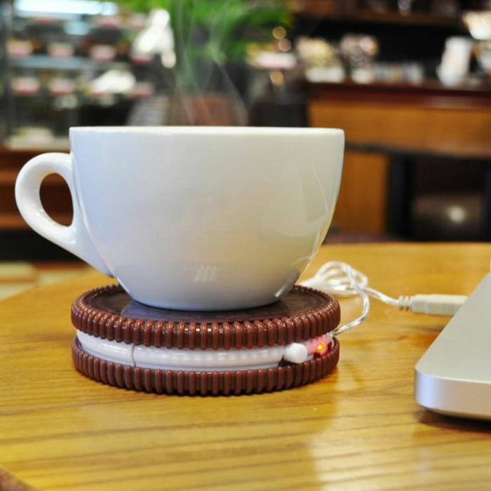 Ausgefallene Geschenke Ideen Cookie Usb Tassenwärmer