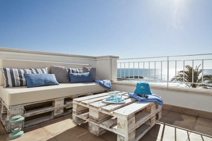 33 Ideen wie Sie den kleinen Balkon gestalten können