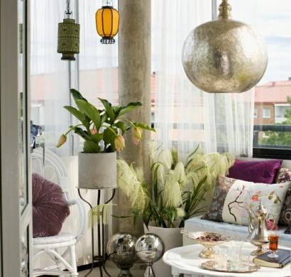 33 ideen wie sie den kleinen balkon gestalten k nnen - Kleinen balkon gestalten ...