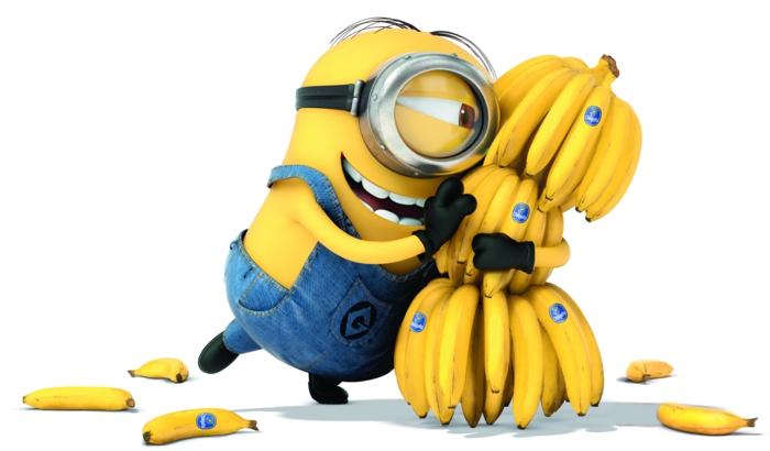 bananen gesund ganzes bild voll bananenschale minies