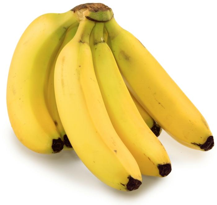 bananen gesund ganzes bild voll bananenschale stücke bund