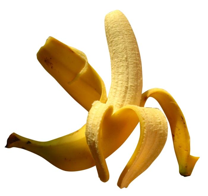 bananen gesund ganzes bild- voll bananenschale stücke schatten