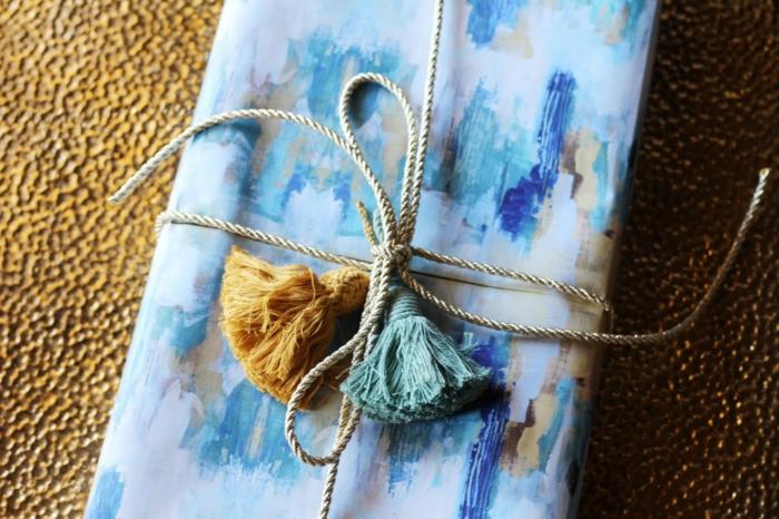 bastelideen selber machen dekoideen DIY IDeen bommel troddel geschenk