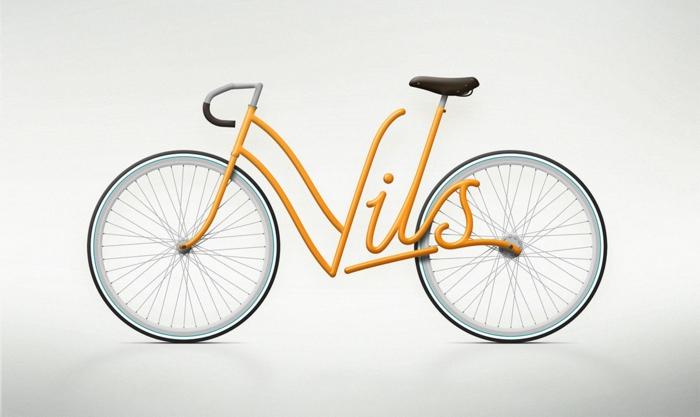 besondere geschnekidee freund fahrrad viktoria titel einzeln gelb