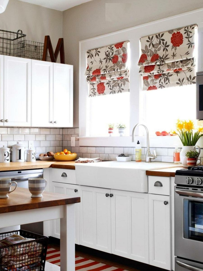 red and white kitchens ideas 20 tolle k 252 chendesign ideen f 252 r ihre moderne k 252 che 25557